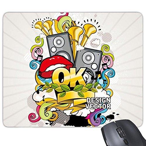 Graffiti Street Culture - Alfombrilla de ratón rectangular de goma,...