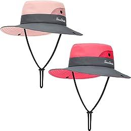 2 Pièces Chapeau de Soleil d'Été d'Enfants Chapeau