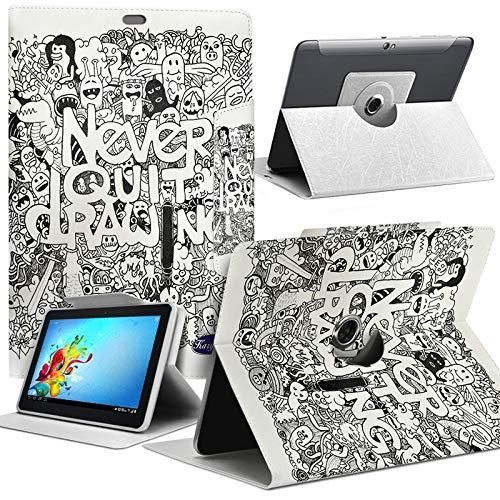 Karylax Schutzhülle Motiv MV10 Universal S für Tablet HP Pro Tablet 608 G1 8 Zoll