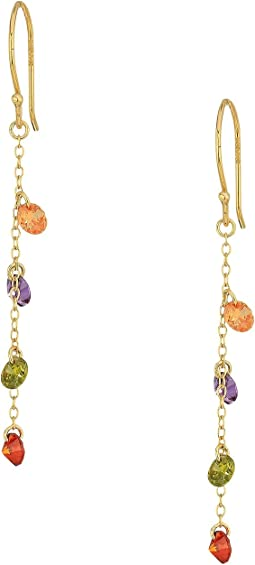 SHASHI - Millie Linear Multicolor Earrings