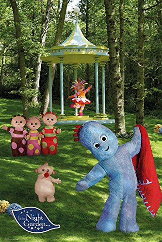 In The Night Garden Characters Poster TV Serie Igglepiggle Nickelodeon 61x91,5 cm