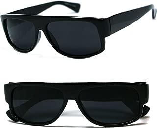 Original OG Mad Dogger Locs Shades Sunglasses w/Super Dark Lens (Black)