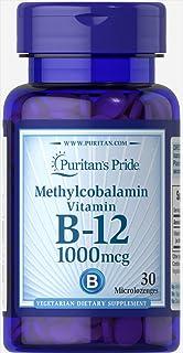 Puritan's Pride Methylcobalamin Vitamin B-12, 1000 mcg, 30ct