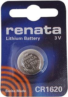 Renata CR1620 3V Litio Moneda Celular Reloj batería DL1620, ECR1620, BR1620 (1 x