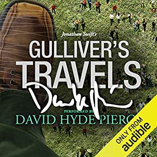 Gulliver's Travels: A Signature Performance by David Hyde Pierce audiobook cover art