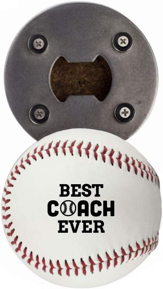 Baseball Coach Gift Popular brand Bottle Opene Bes made real from a New life