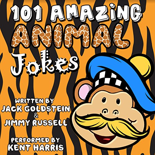 101 Amazing Animal Jokes audiobook cover art
