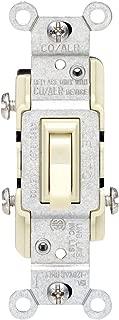 Leviton GIDDS-606691 217-2653-2I IV COPPER/ALUM SWITCH, Ivory