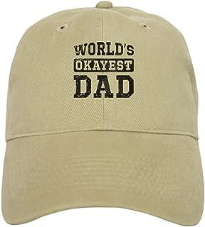 worlds okayest dad hat