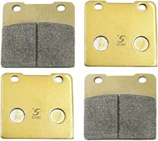 SYUU Motorcycle Replacement Front and Rear Brake Pads Brakes for Suzuki VS 1400 VS1400 Intruder Boulevard (87-03) VL 1500 VL1500 Legendary (98-01) FA103F FA103R