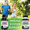 Sambucus Elderberry Capsules with Zinc & Vitamin C - Women & Men's Daily Herbal Supplement for Immune Support, Skin Health - Powerful Antioxidant - Na... #3