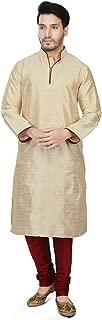 Dupion Silk Kurta Pajama Bollywood Men's Designer Indian Kurta Pyjama Set S-5XL