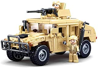 Octopbrik Military Vehicle Building Toy with 2 Soldiers...