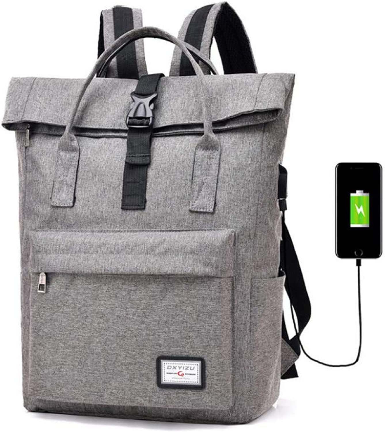 HUYANNABAO Capacity USB Charger Notebook Business Backpack Travel Leisure Bag'S for Men Women