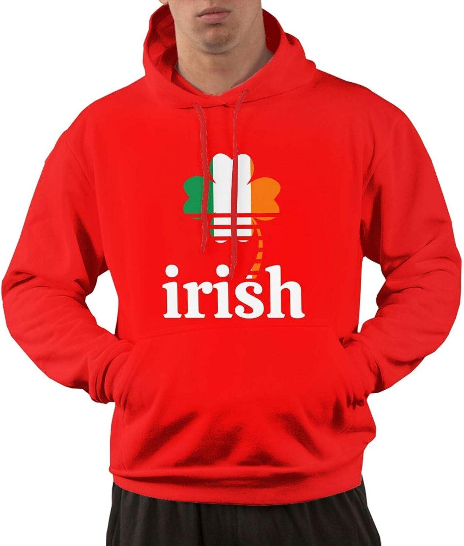 XIA WUEY Men's Active Long-awaited Pullover Hoodies Irish St. Patrick's Regular store Day H