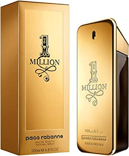 1 Million Paco Rabanne Eau de Toilette - Perfume Masculino 200ml, Paco Rabanne, 200
