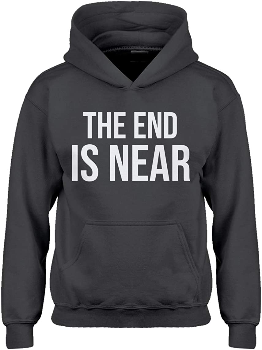 Indica Plateau Kids Hoodie The End is Near Youth S - (6-7) Charcoal Grey Hoodie