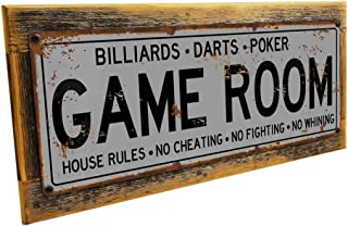 Best rustic game room decor Reviews