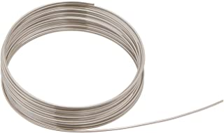 Beadalon 180S-018 18-Gauge Stainless Steel Round Bright Wire for Jewelry Making, 3.5m