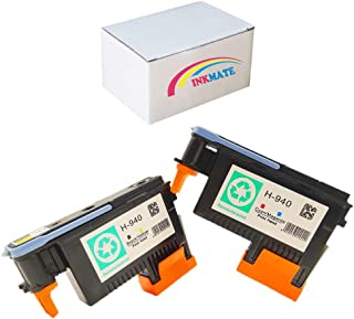 INKMATE 2 Pack 940 Printhead C4900A C4901A Replacement for Officejet Pro 8000 8500 8500A 8500A Plus 8500A Premium A909a A910a A909g A909n