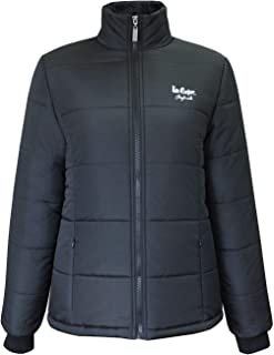 Padded Jacket Womens Outdoor Top Ladies Outerwear UK 8 (X-Small) Black