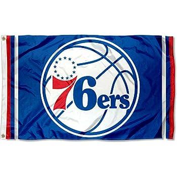 WinCraft Philadelphia 76ers Americana Stripes Nation 3x5 Flag