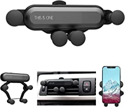 IYOYI Cell Phone Car Cradles Air Vent Car Mounts Holder Auto-Retractable Automatic Locking with Pneumatic Shock Protector for 4.7 to 6.7 inches Smartphones (Mini Car Mount)