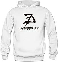 Tommery Women's Sevendust Logo Long Sleeve Sweatshirts Hoodie