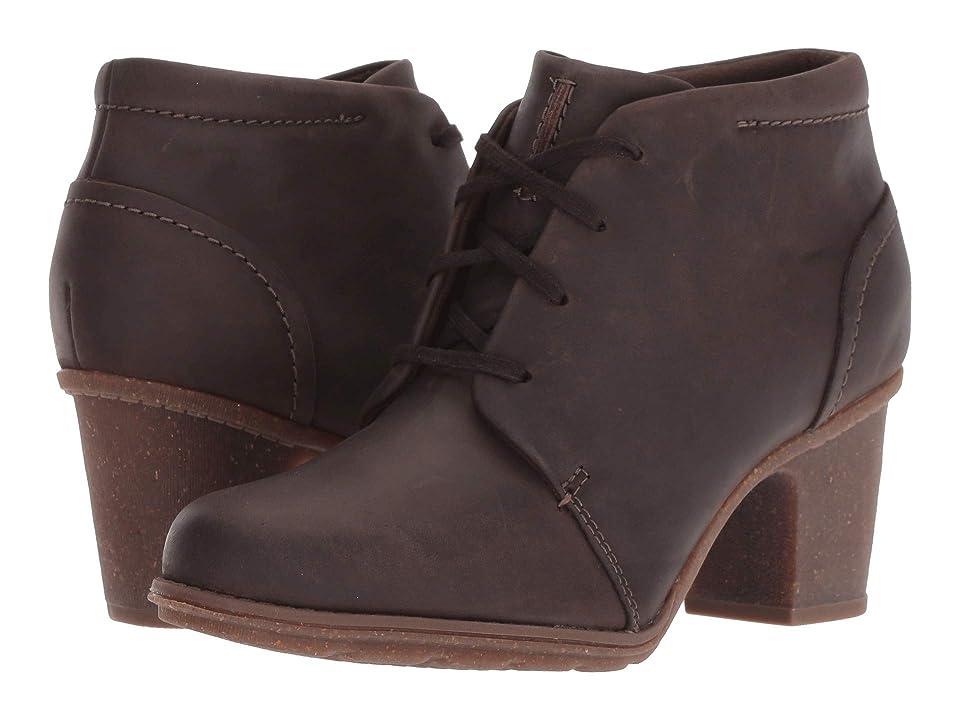 Clarks Sashlin Sue (Taupe Leather) Women