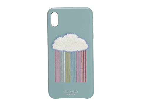 Kate Spade New York Rainbow Cloud Patch Phone Case For iPhone XS Max