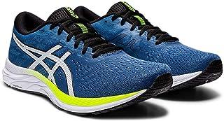 ASICS Men's Gel-Excite 7 Running Shoes, 8M, Grand Shark/Black