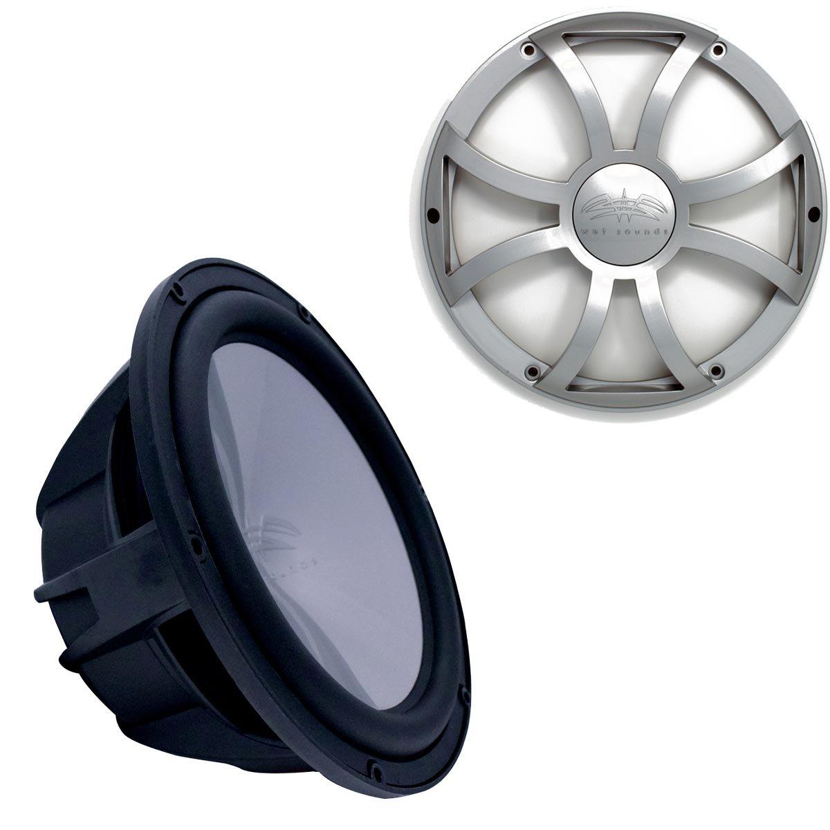 Wet Sounds REVO10HPS4 B Power Subwoofer