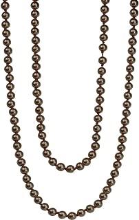 copper pearl necklace