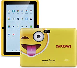 CARRVAS Tablet for Kids, 7inch WiFi & Android 8.1 KidsTablet 1G(RAM)+16G, Pre-Installed Iwawa, Parenting Control Tablet with Educational Games App