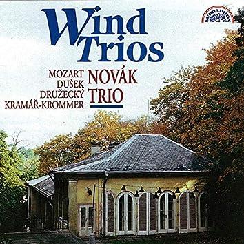 Mozart, Kramář, Dušek, Družecký: Wind Trios
