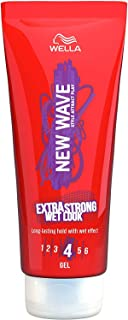 WELLA New Wave Extra Strong Wet Look Gel - 200 Ml