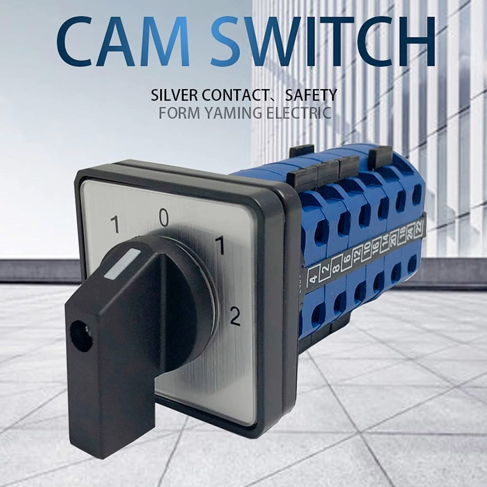 LW26-20 6 Cam Sale Special Price Switch Panel Power Brand new DIY Changeover Rotary Mounting