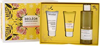 Decleor Infinite Soothing Rose Damascena Skincare Set: Aroma Cleanse Cleansing Mousse+ Day Cream & Mask+ Bath & Shower Gel...