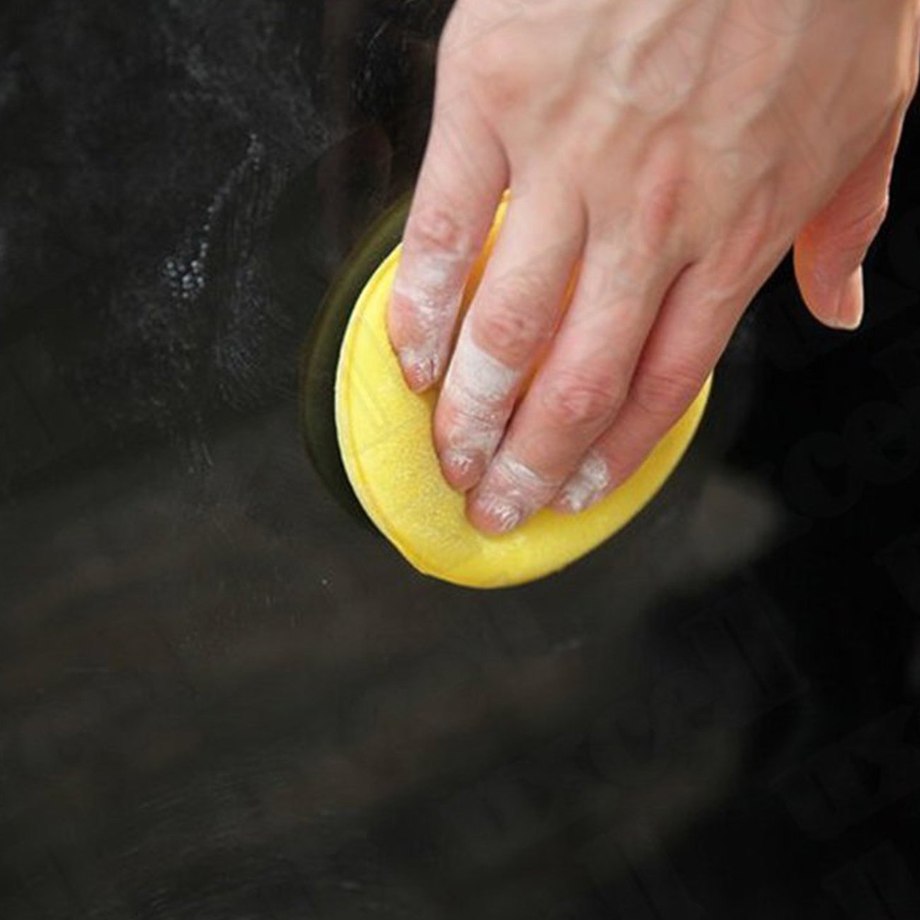 Vkospy 12pcs Cera Lucidare Wax Foam applicatore in Spugna Pad per Clean Cars