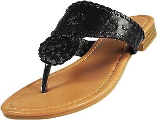 Pierre Dumas Women's Rosetta-1 Slip-on Sandals
