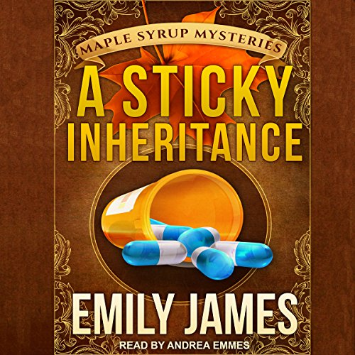 A Sticky Inheritance audiobook cover art