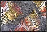 wash+dry Felpudo Erbario 50 x 75 cm, Interior y Exterior, Lavable