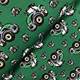 Swafing GmbH Softshell Fiete Traktor grün - Stoff -