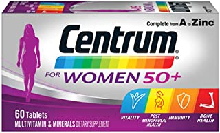 Centrum Complete Multivitamin and Mineral Tablets for Women, Multi 60 count, Pack of 60