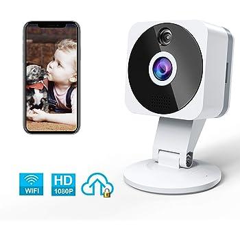 Uhr Funk üBerwachungskamera Mini IP Kamera 1080P Wifi Wlan Nachtsicht Webcam ba