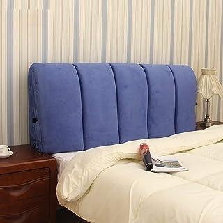 HONGCC Oreillers Coussins lombaires Tissu de Chevet Coussins Sac Souple Couvre-lit Oreiller Big Coussin Dossier Dossier Am...