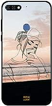 جراب Honor 7C من Doodle Cap بناتي صناعة ذاتي
