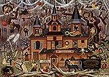 Buffalo Games - Charles Wysocki - Trick or Treat Hotel - 500 Piece Jigsaw Puzzle