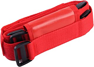 Roll Bar Fire Extinguisher Holder Safety Accessory For Jeep Wrangler 2007 2008 2009 2010 2011 2012 2013 2014 2015 2016 (Red)