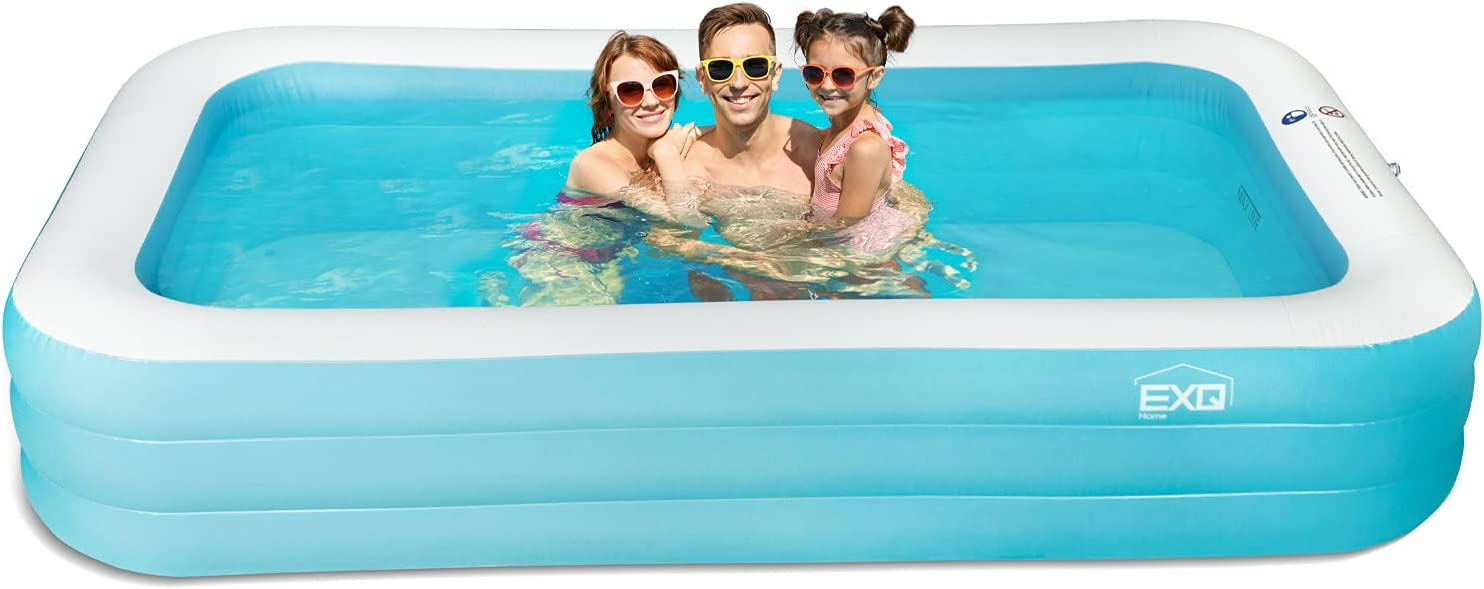 Inflatable Swimming Discount mail order Pool Full-Sized X Rare 120
